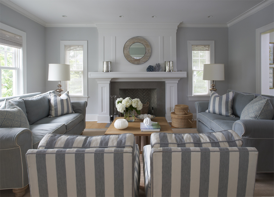 Light and neutral paint colors can help to open up a space