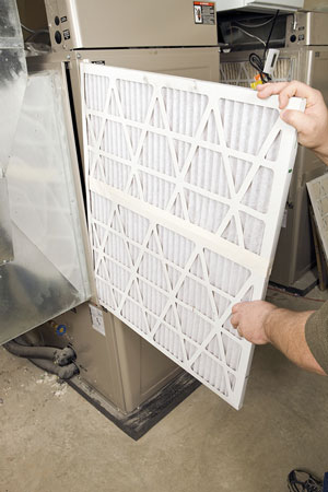 Improve the quality of your air by switching out your furnace filter.