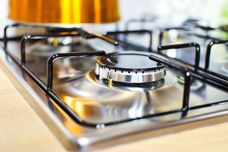 Use the proper cleaning solution for your stovetop.