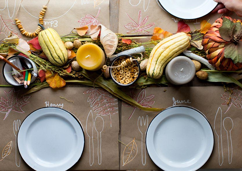 The Thanksgiving Kids Table. Image: Say Yes