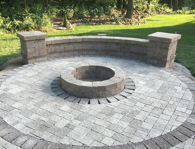 Custom-Built Fire Pit