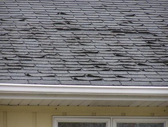 Spring Home Maintenance: Inspect Roof for Missing or Cracked Shingles