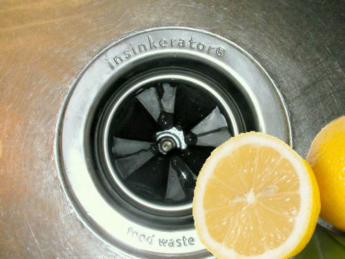 Garbage Disposal Maintenance | Use citrus peels to keep your sink smelling fresh.