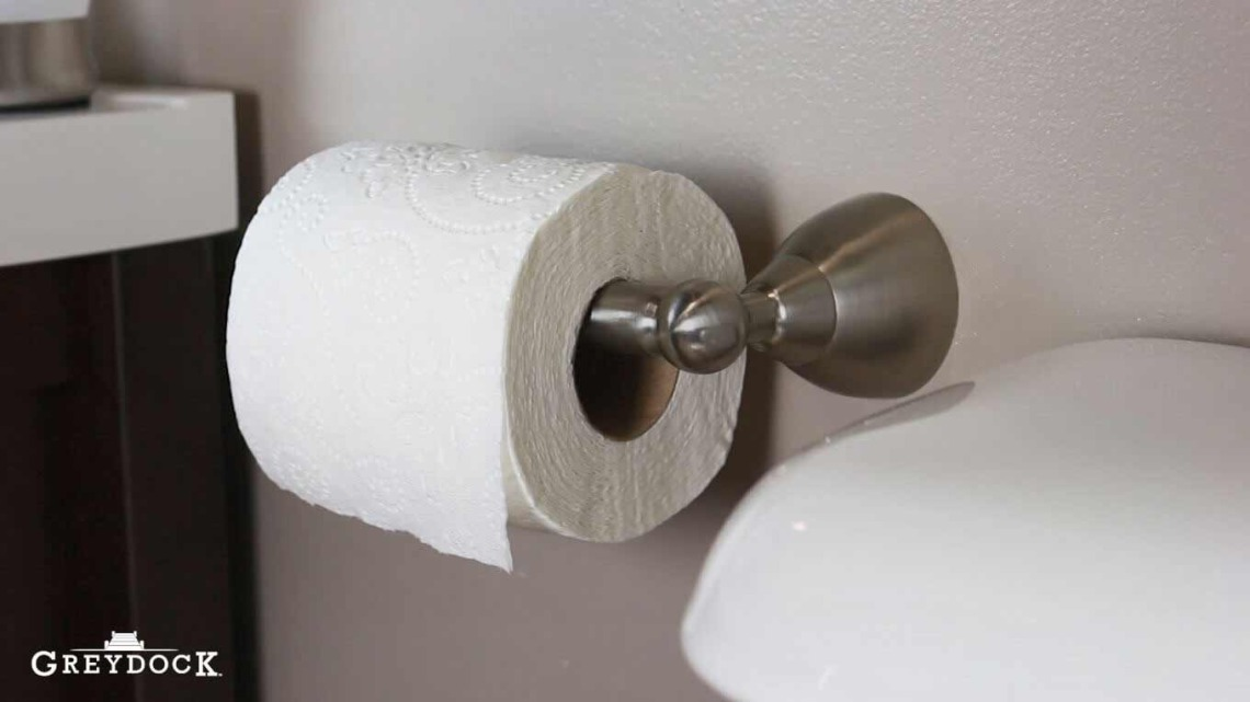 How To Install A Spring Loaded Toilet Paper Holder Greydock Blog