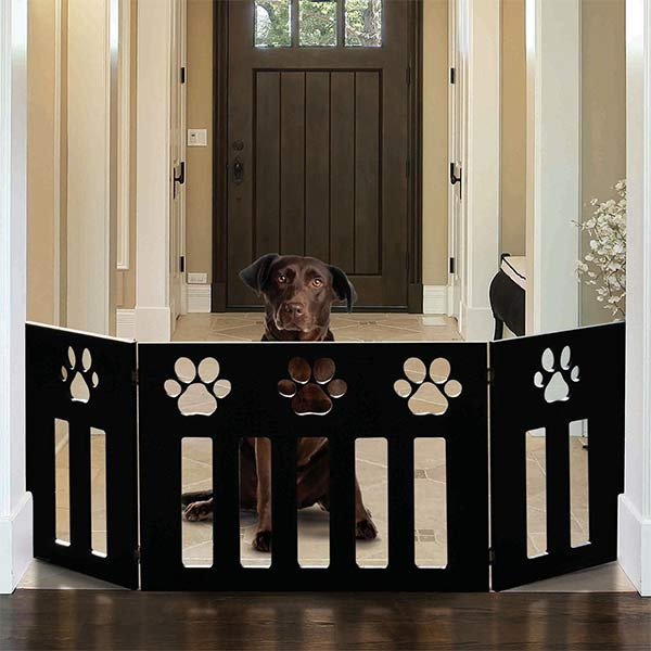 Dog Christmas Gift Idea: Decorative Pet Gate | GreyDock Blog