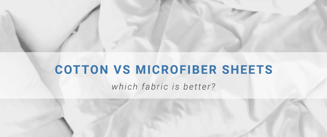 Cotton vs. Microfiber Sheets: Which Fabric is Better? | GreyDock Blog