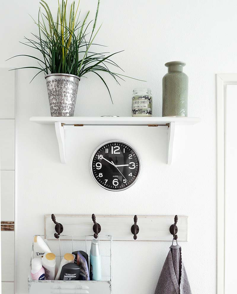 Floating Bathroom Shelves Under $100 | GreyDock Blog