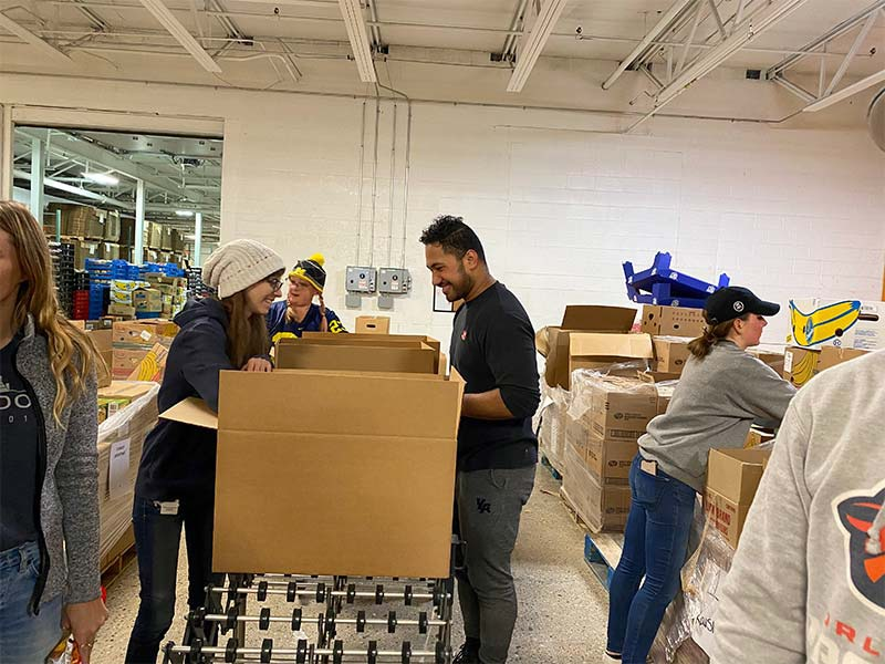 Volunteering at the Food Bank of Eastern Michigan | November 16, 2019 | GreyDock Blog