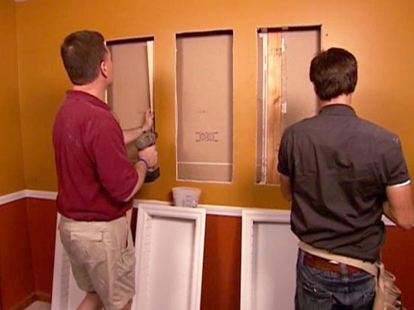How to Install Recessed Shelves | DIY Network