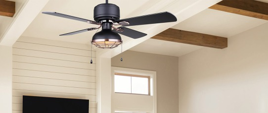 5 Minute Home Hack: How to Clean Ceiling Fan Blades. Image: Canarm