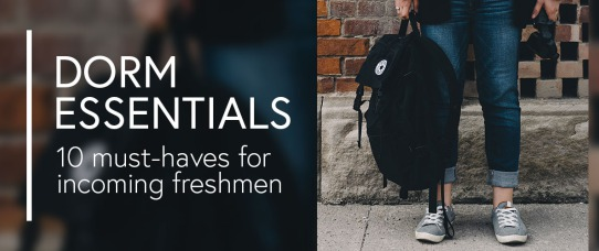 Dorm Essentials: 10 Must-Haves for Incoming Freshmen | GreyDock Blog