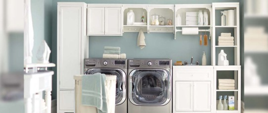 The Inexpensive Secret For Instant Laundry Room Organization | GreyDock Blog