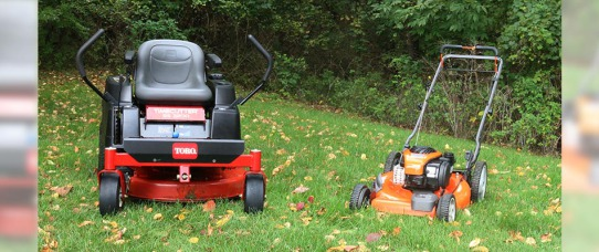 How to Winterize a Zero Turn or Push Lawn Mower | GreyDock Blog