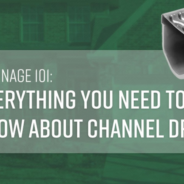 Drainage 101: Everything You Need to Know About Channel Drain | GreyDock Blog