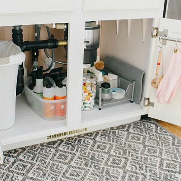 How to Organize Under Your Kitchen Sink | GreyDock Blog