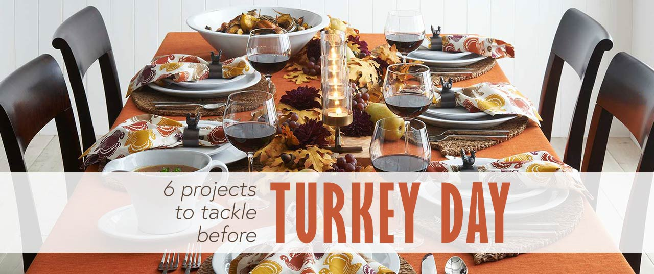 Thanksgiving Home Prep: 6 Projects to Tackle Before Turkey Day | GreyDock Blog