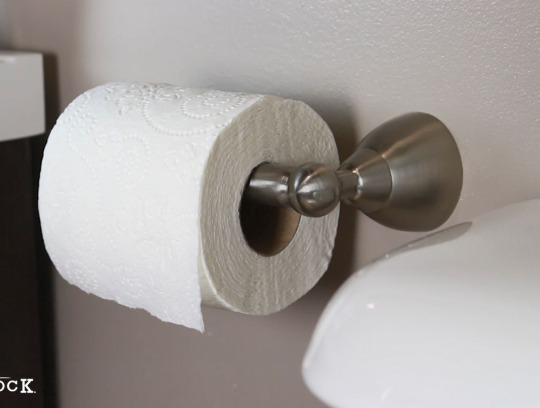 How To Install A Spring Loaded Toilet Paper Holder