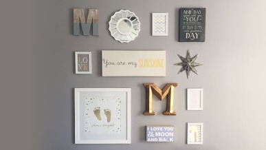 How to Create a Nursery Gallery Wall