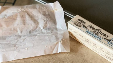 Holiday Home Hack: How to Reuse Butter Wrappers | GreyDock Blog