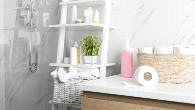 6 Storage Hacks to Make the Most of a Small Bathroom | GreyDock Blog