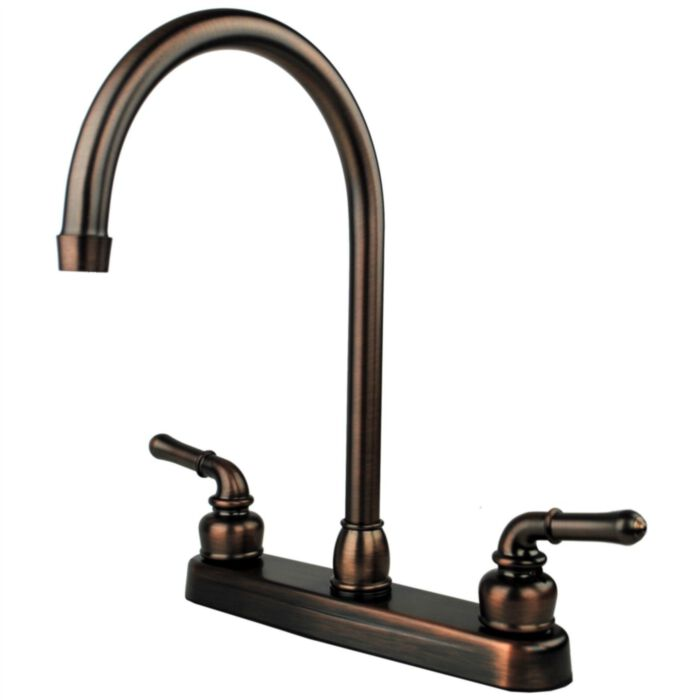 Ultra Faucets Uf08505cf Rv Mobile Home Kitchen Sink Faucet Oil Rubbed Bronze Greydock Com
