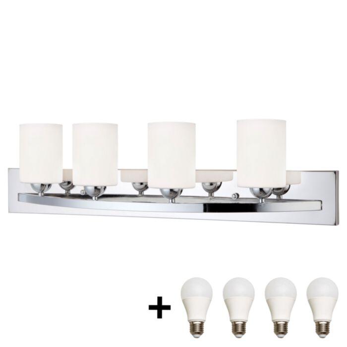 Bulb Bath Vanity Light, Bathroom Vanity Light Bulbs
