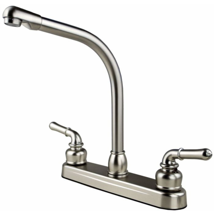 Ultra Faucets Rv Mobile Home Trailer Kitchen Sink Faucet Stainless Steel Greydock Com