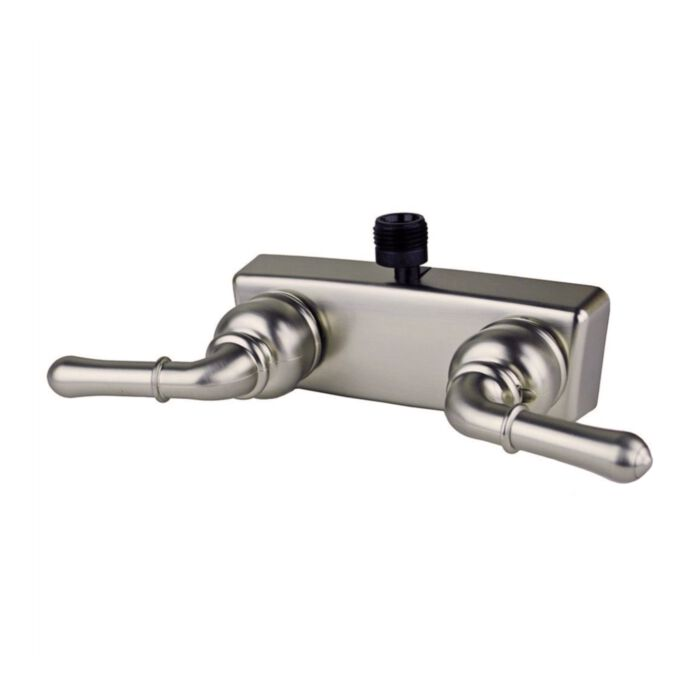ultra faucets uf08363c rv mobile home tub shower diverter valve faucet in brushed nickel