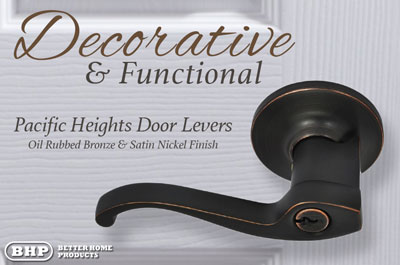 BHP Pacific Heights Door Levers