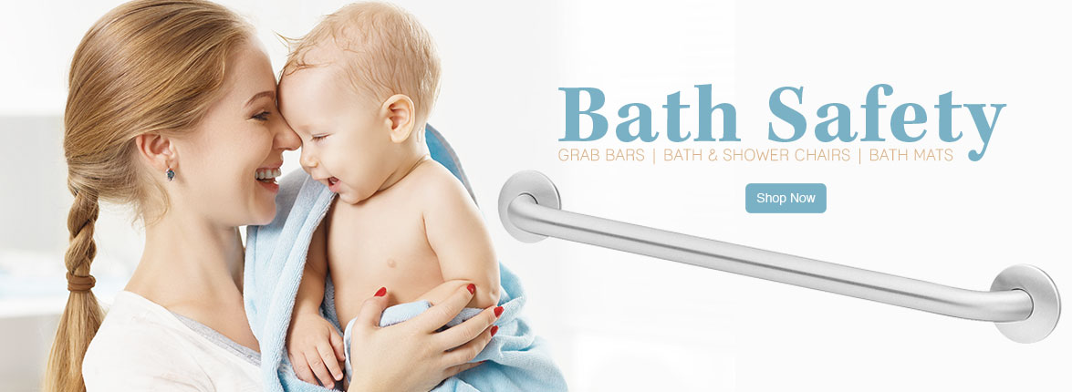 Bathroom Safety Stainless Steel Grab Bars