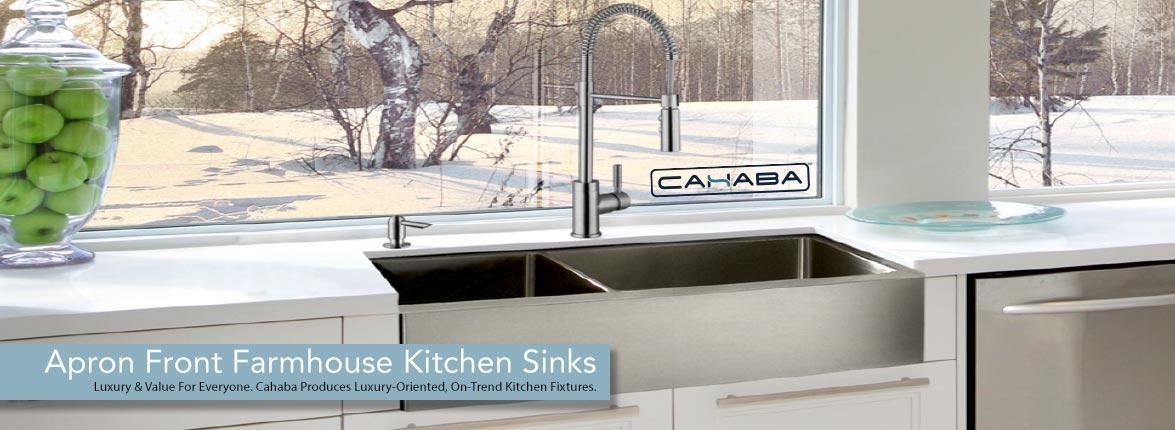 Cahaba Apron Farmhouse Kitchen Sinks