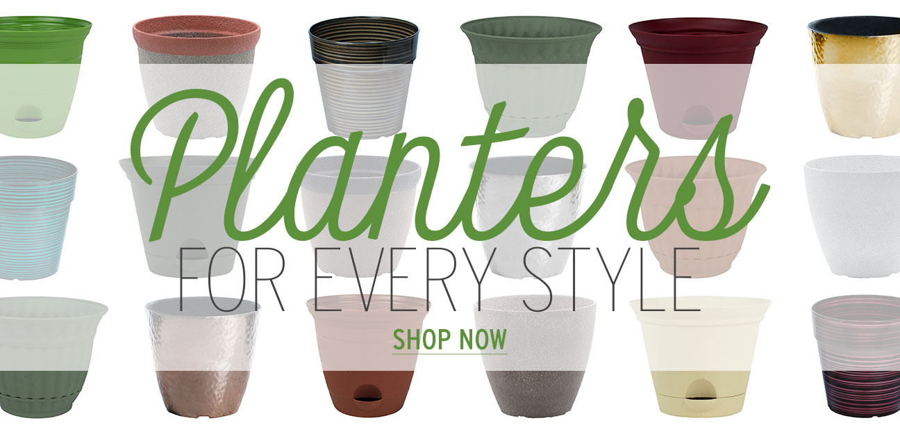 Shop trendy garden planters for every style.