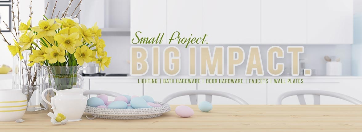 Small Project Big Impact Spring Sale