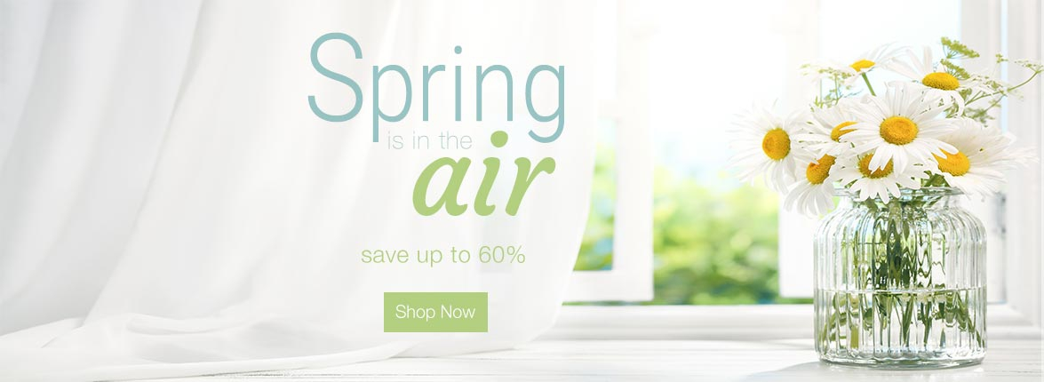 Spring is in the Air Sale