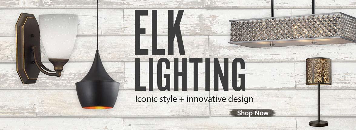 Elk Lighting Pendant and Vanity Light Fixtures