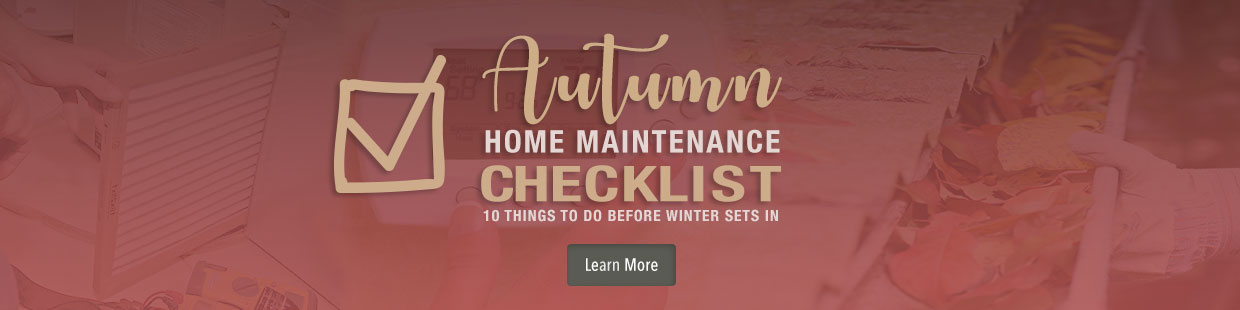 Top 10 Items to Prepare Your Home for Autumn