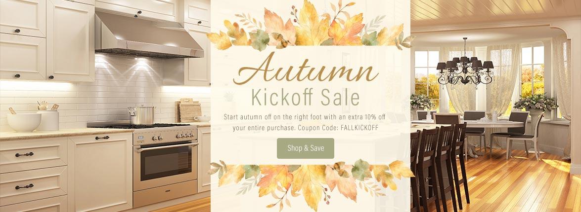 Autumn Kickoff Sale