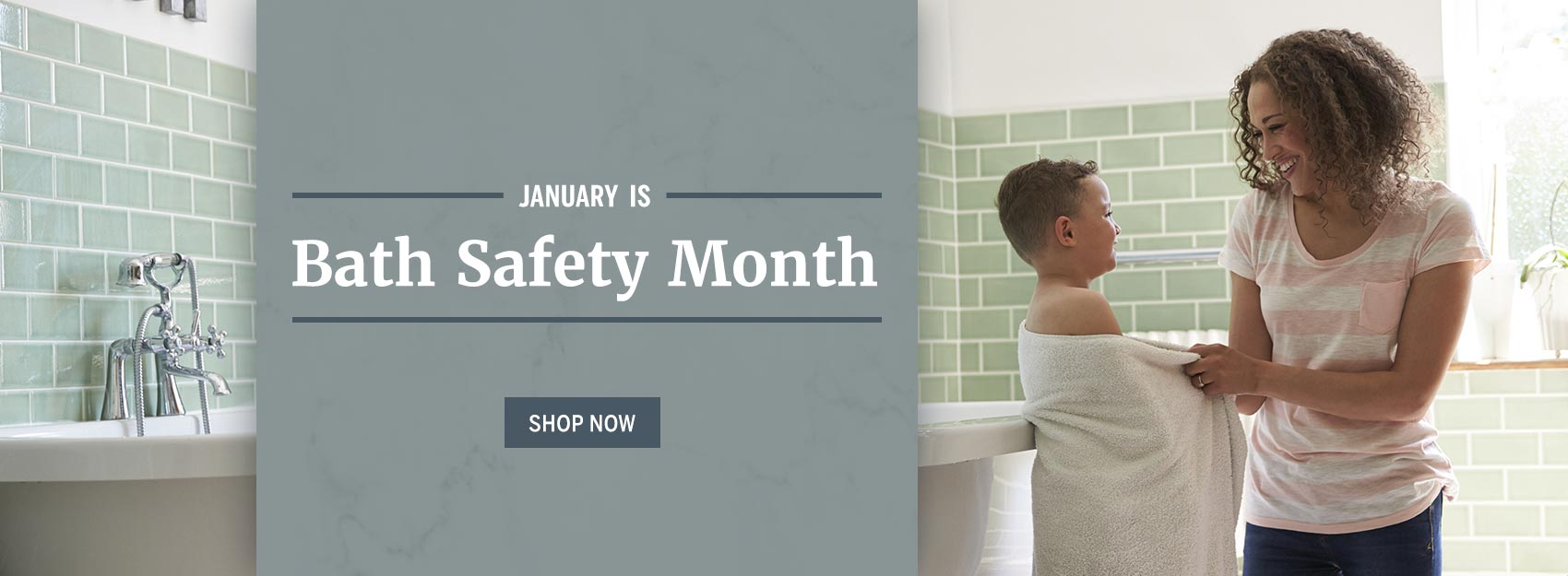 Save an extra 5% on all items during our Bathroom Safety sale