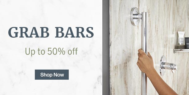 Shop and save on grab bars and other bath safety products.
