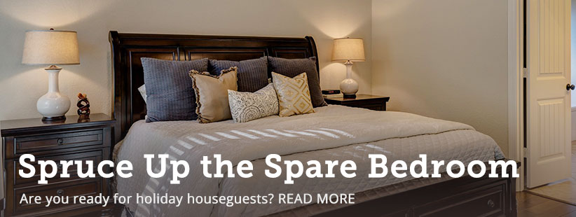 How to Spruce Up Your Spare Bedroom for Houseguests | GreyDock Blog
