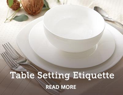 Table Setting Etiquette | GreyDock Blog