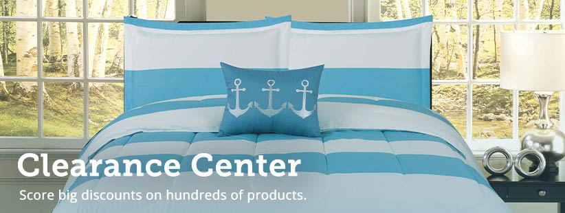 Shop our Clearance Center.