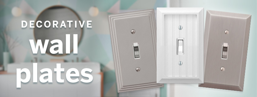Decorative Wall Switch Plates