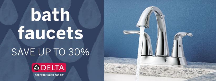 Delta Faucet Bathroom Lav Faucets
