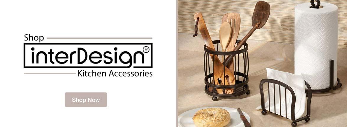 Interdesign Kitchen and Bath Accessories