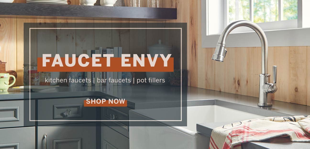 Save up to 30% on Kitchen Faucets, Bar Faucets, Pot Fillers & More