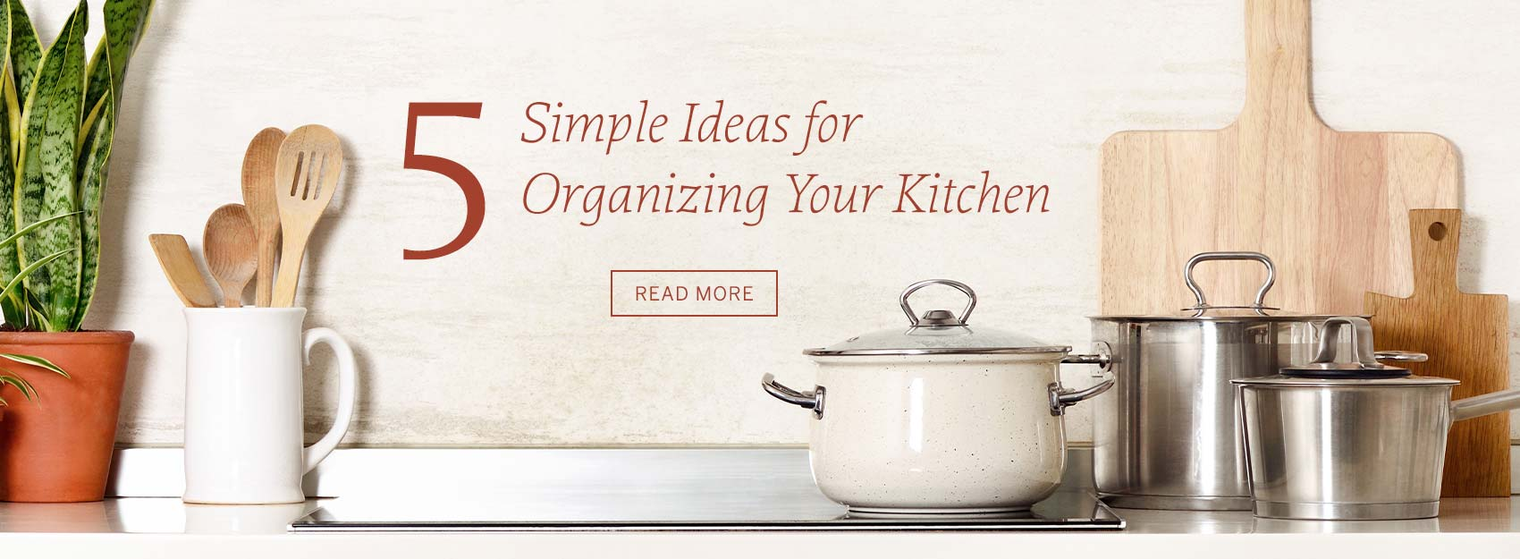 5 Simple Ideas for Organizing Your Kitchen | GreyDock Blog
