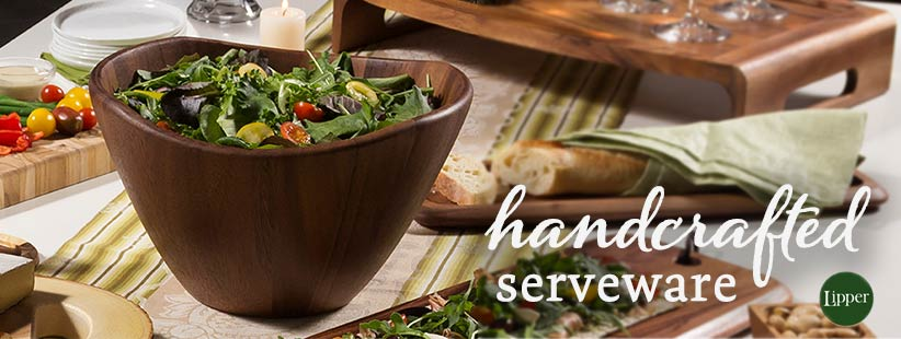 Handcrafted Wood Serveware by Lipper International