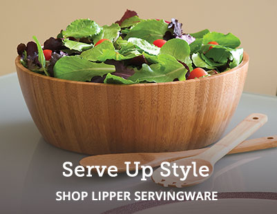 Shop and save on Lipper International wooden servingware.