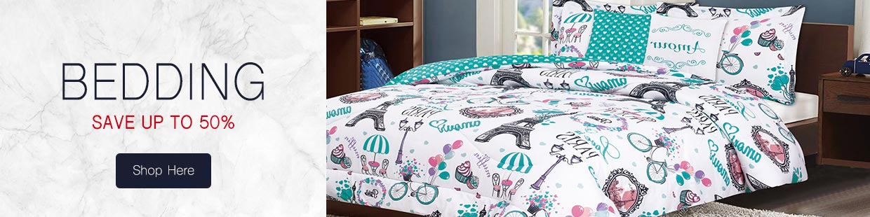 White Out Bedding Sale